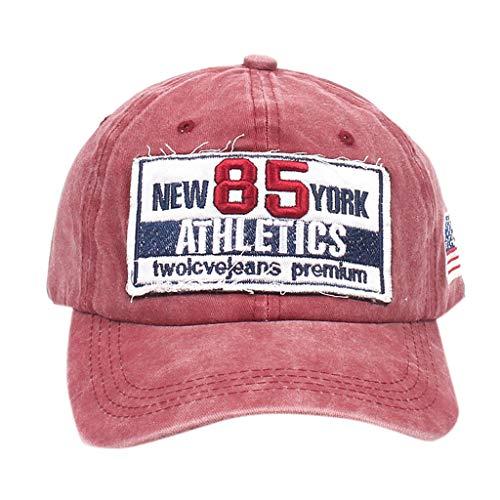 Yvelands Unisex Männer Frauen Mode Einstellbare Baseball Sport Snapback Cap Hip-Hop Hut - Hut Jordan Stricken