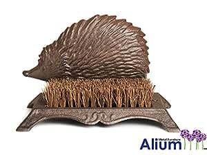Alium Cast Iron Hedgehog Boot Scraper