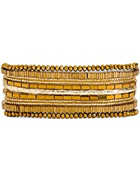 e622496d05429c Hipanema Bracelet Santafe Gold Size M
