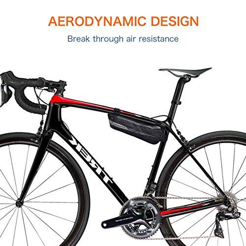 Flexdin Fahrradtasche Rahmen Dreieckstasche Oberrohrtasche Für
