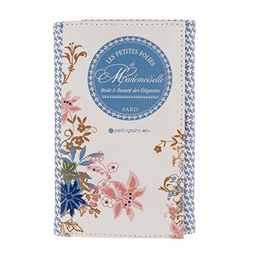 Derrière La Porte DLP - Porte-Papiers de Voiture MADEMOISELLE PARIS Bleu pour Femme