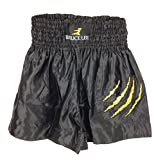 Tunturi-Fitness 14BLSMA034 Bruce Lee  pantaloncino kick boxe nero L
