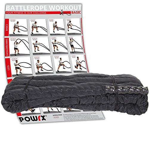 POWRX - Cuerda batalla - Battle Rope revestimiento
