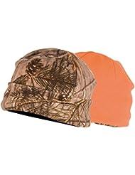 Bonnet polaire réversible Somlys 2466 Camo 3DX / Orange