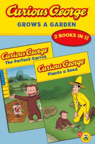 Curious George Grows a Garden: A Double Reader