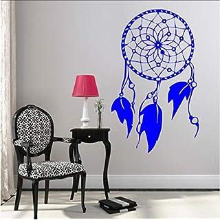 Pbbzl Feathers Decor Indian Style Dream Catcher Catcher Wall Sticker Art Vinyl Wall Murasl For Home Bedroom Decoration 36X57Cm