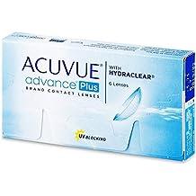 Acuvue Advance Plus  - Lentes de contacto esféricas quincenales (R 8.7 / D 14 / 2.75 Diop), Pack de 6 uds.