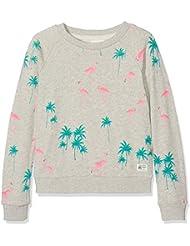 Unbekannt Mädchen Sweatshirt C-Neck Sweater Flamingo