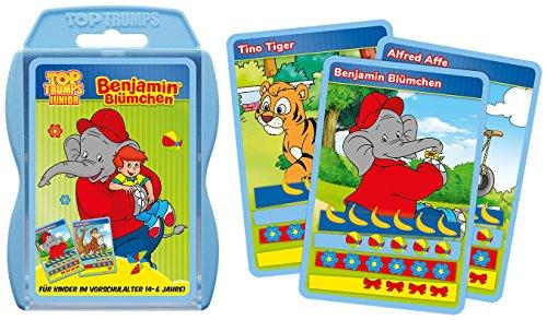 Top Trumps Junior Benjamin Blümchen | Quartett | Kartenspiel | Trumpspiel | Gesellschaftsspiel (Top Trumps) (Jahre Top 1970er)