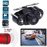 ZHUOTOP Rückfahrkamera Nachtsicht Kamera fürs Auto HD Rückansicht Monitor Rückfahrkamera Backup-Kit