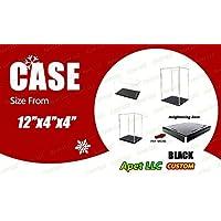 Preisvergleich für Selbstmontage klar Acryl Spielzeug Display Box Case Schutz Toys Staubdicht 30,5x 10,2x 10,2cm