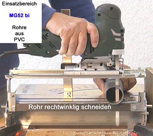 5St MG52 Sandwich Stichsägeblätter 180 mm lang für Stichsäge u Trenn-Biber 012P - 5