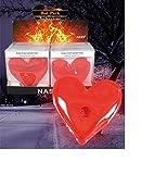 Handwärmer Wärmekissen Taschenwärmer in Herz Form Rot ca. 12 cm