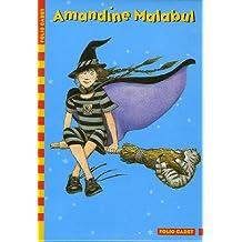 Amandine Malabul : Coffret en 4 volumes : Tome 1, Sorcière maladroite ; Tome 2, La sorcière ensorcelée ; Tome 3, La sorcière a des ennuis ; Tome 4, La sorcière a peur de l'eau