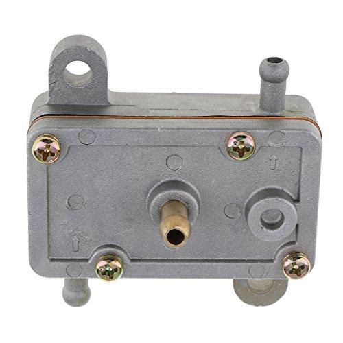 Sharplace DF44-211 Single Outlet Puls Vakuum Benzin Kraftstoff Membranpumpe für Flugmodell RC