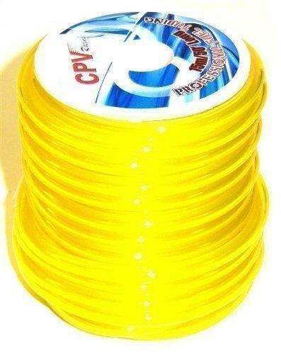 51826Y Neon Yellow RC Motor Benzin / Nitro Gas Benzinschlauch 1 Meter 5mm x 25 mm