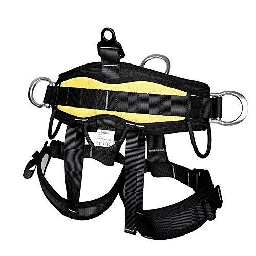 Outdoor Klettergurt Sicherheitsgurt Kletterausrüstung für Fallschutz Steigschutz