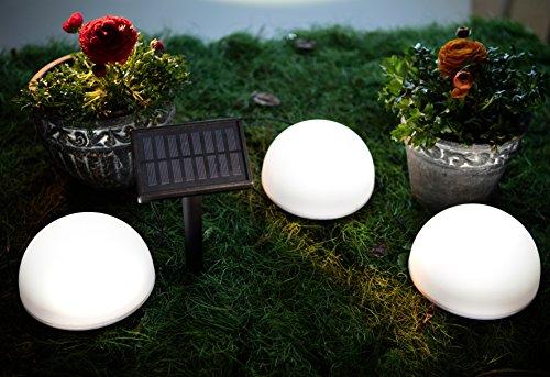 Solar Bodenleuchten mit Farbwechsel LEDs