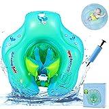 RuoCherg Anello di Nuoto Bambini, Bebè Salvagente Sicurezza Gonfiabile per Piscina, Nuoto Anello con Sedile Ideale Adatto per Bambini da 6 a 30 Mesi