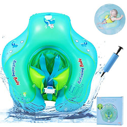 ACELIT Baby Schwimmring, Baby Schwimmen Ring Aufblasbare Pool Float mit abnehmbaren Höschen, Baby Schwimmhilfen Perfekt Schwimmtrainer für Kinder Von 6-30 Monaten