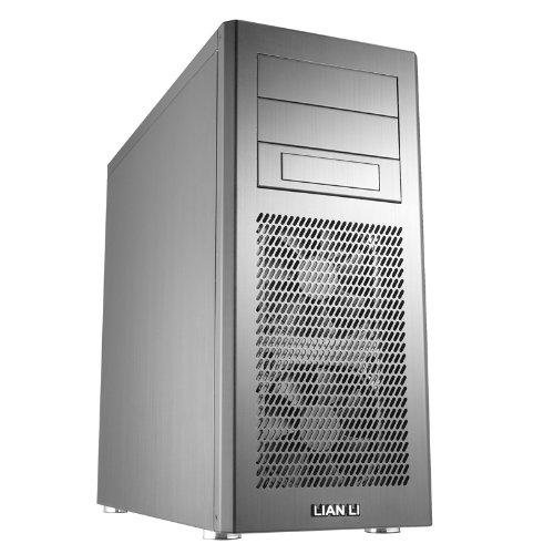 Lian-Li PC-9F Midi-Tower Silver computer case - Computer Cases (Midi-Tower, PC, Aluminium, ATX,Micro-ATX, Silver, 17 cm)