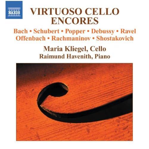 Virtuoso Cello Encores
