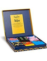 Happy Socks The Beatles LP collecteurs chaussettes en coton en boîte-cadeau - Hommes et Femmes
