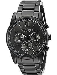 Akribos XXIV Reloj de cuarzo Man AK865BK 41 mm