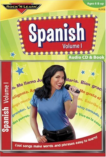Spanish Vol. I [With Book(s)]: 1 (Rock N Learn Series) por Rock N Learn