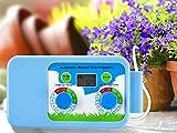 Système d'Arrosage Automatique Goutte à Goutte Kit DIY Batterie ou USB Alimenté avec Minuteur Electronique Tuyau et 45 Goutteurs d'Irrigation pour Plate Bandes Terrasse Jardin Plante Vacances