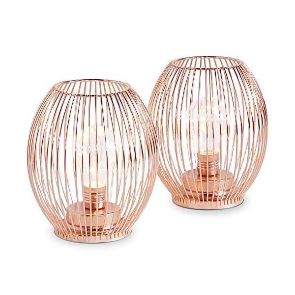 Couleur 2 Rose Ensemble Décoration Accessoire Idée De Pour Déco Lampes Beautify Fil Or D'intérieur Corbeille Aspect Sans Cadeau ZkPiXu
