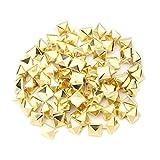 100 Pyramide-Bolzen-Bolzen-Niet Von Spike Platz DIY Punk Spot für DIY10 Mm Gold-