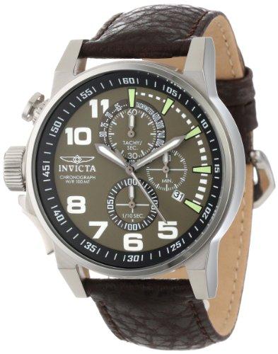 Invicta-13054-Reloj-de-cuarzo-para-hombres-color-marrn