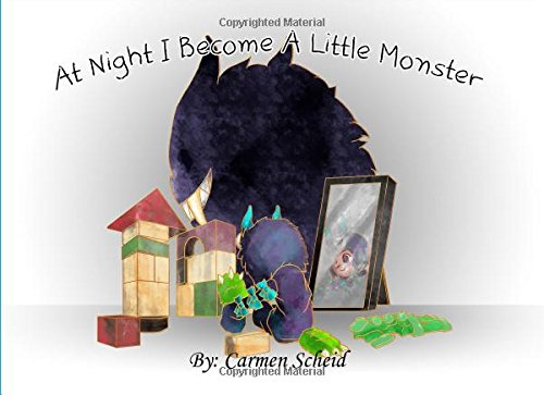 At Night I Become A Little Monster (Violeta and Dexter, Band 1)