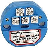 cnbtr plástico azul 24V DC 4–20mA 0–250Celsius PT100sensor de temperatura transmisor convertidor