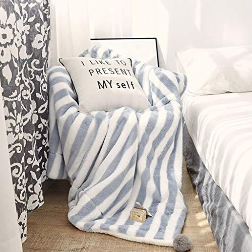 LG-ZWHL Sofa Babydecke - Warme Kuscheldecke - Kuschelig Atmungsaktiv - Pflegeleicht - Dekorativ for Schlafzimmersofa (Color : D, Size : 200X230CM)