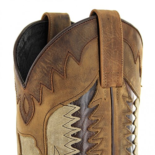 Sendra Boots Stiefel 13171 Westernstiefel Chocolate Ours