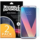 Ringke Invisible Defender [2 Pack] Compatible with LG V30 /