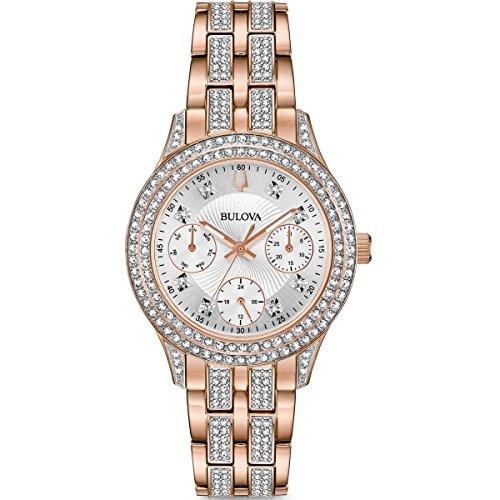 Bulova 98N113 Ladies Crystal Watch