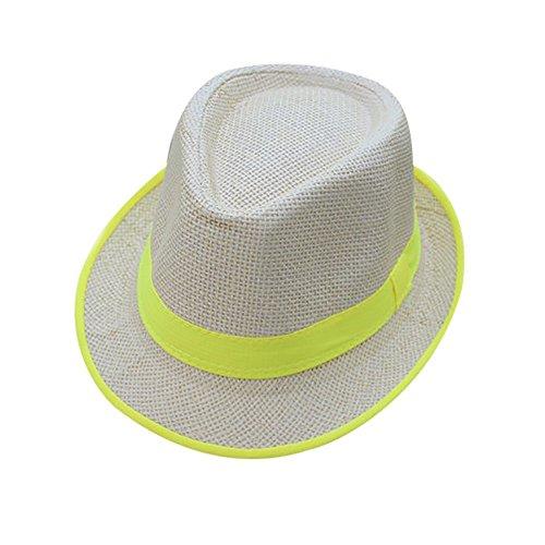 Stroh Bauer Hats - Saingace Strohhut Damen Schlaff Strand Hut