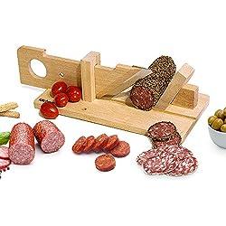 Kitchen Top - Trancheuse à saucisson manuelle - Guillotine à saucisson