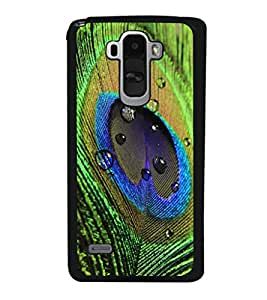 printtech Peacock Bird Feather Colorful Back Case Cover for LG G4 Stylus ,Versions: H631 (T-Mobile); MS631 (Metro PCS); H635 (EMEA); H540 (UAE); H630D (India); H542 (Mexico)