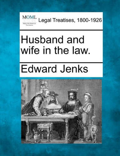 Husband and wife in the law.