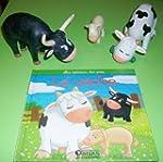 Les animaux des pr�s : la vache, le v...