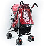 Universal Pushchair Stroller Buggy Rain Cover fits hundreds of models Bild 3