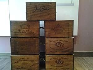 Champagne caisse de rangement grand cuisine for Grand rangement maison