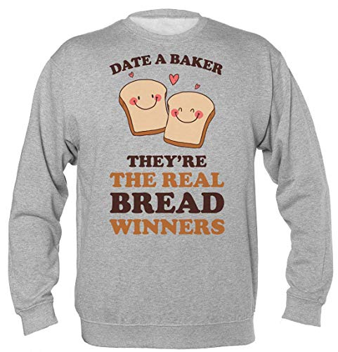 Date A Baker They're The Real Bread Winners Unisex Sweatshirt Extra Large