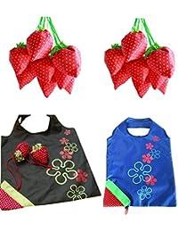 Strawberry Folding Eco-Friendly Reusable Shopping Bag