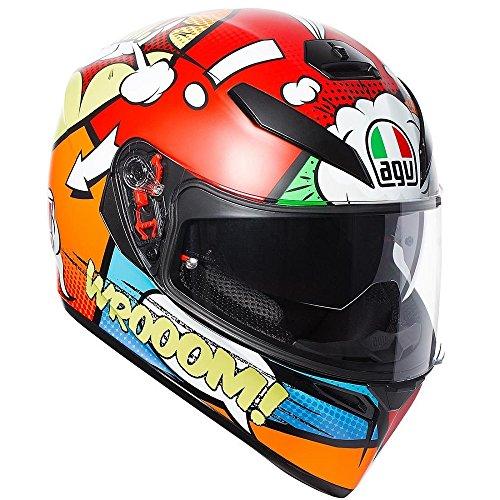 AGV Helmets Casco para moto K-3SV E2205Multi Plk Balloon, talla MS
