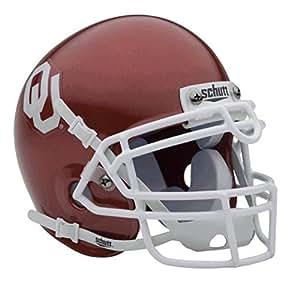 Oklahoma Sooners NCAA Football Schutt Mini authentique Casque